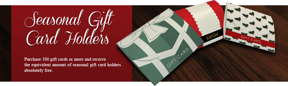 gift cards holders