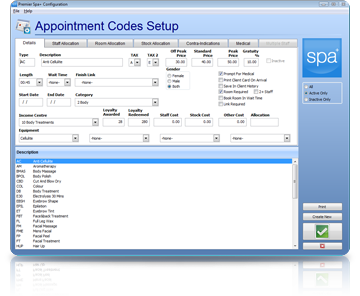 Spa Management Software Appointments