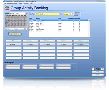 Spa Management Software Groups