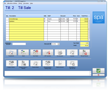 Spa Management Software Sales