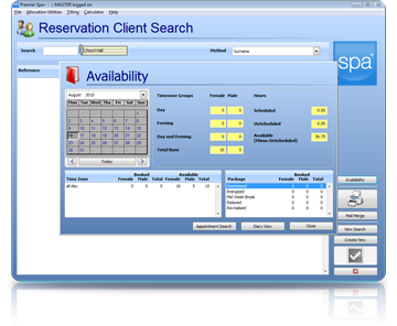 Spa Management Software Scheduling