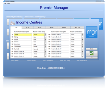 Salon Software Income
