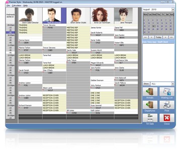 Salon Software Diary