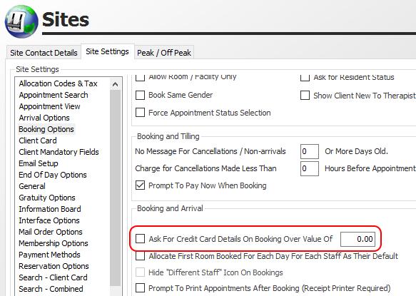 Prompt for Credit Card Details