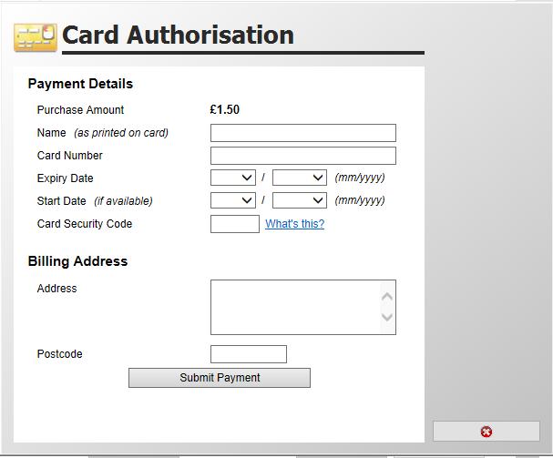 CardAuthorisation
